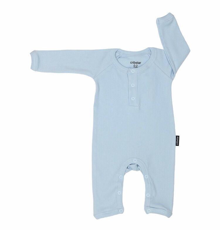 Cribstar romperis baby blue