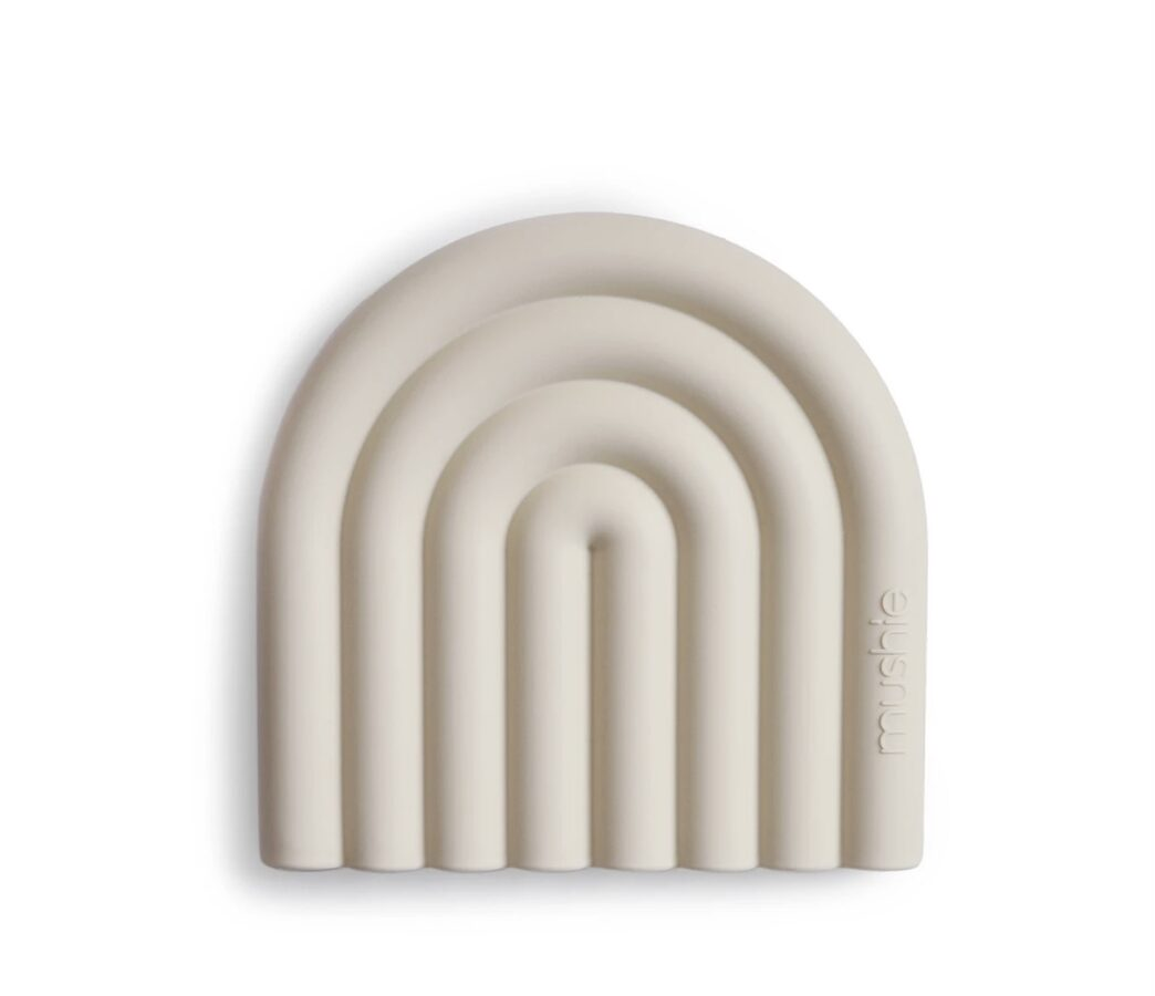 Mushie silikoninis kramtukas RAINBOW Shifting sand