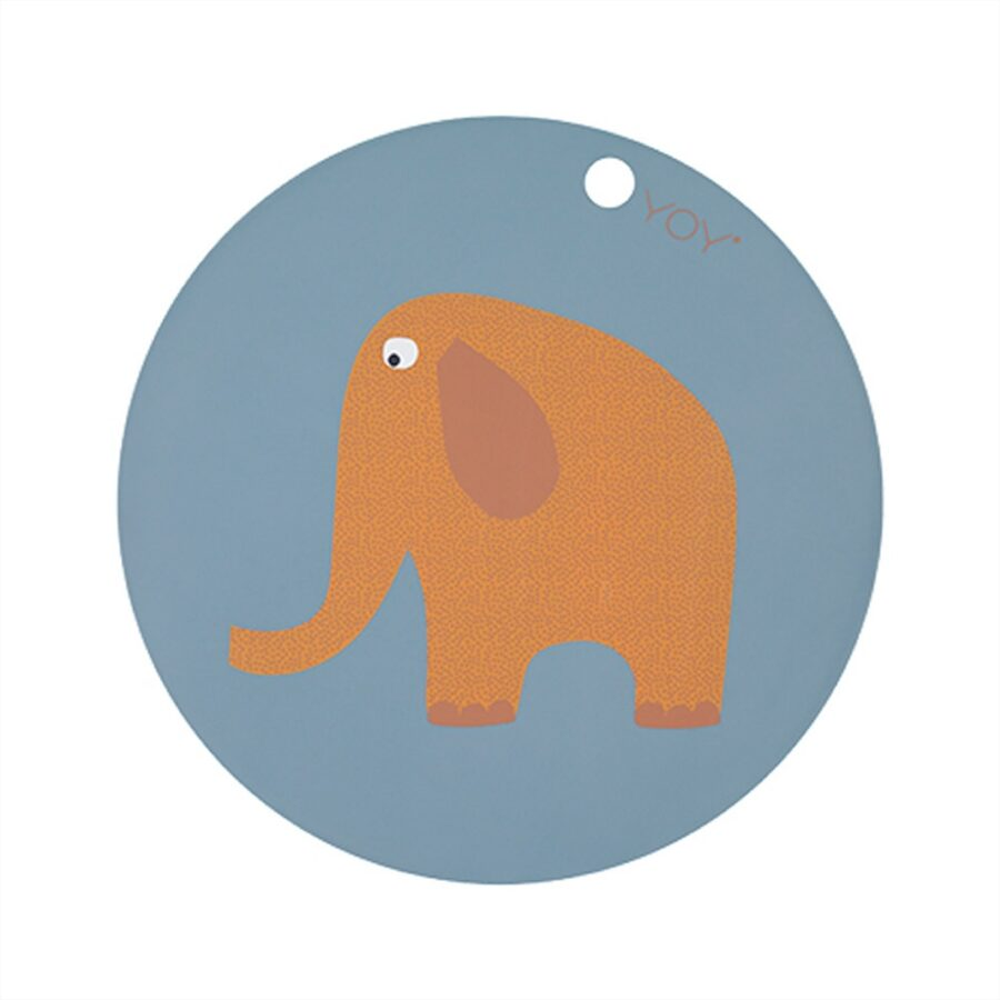 Silikoninis padėkliukas ELEPHANT