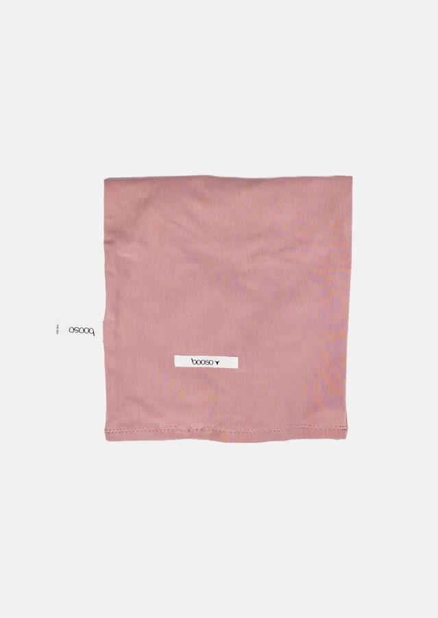 Booso kaklo mova dusty pink