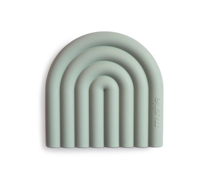 Mushie silikoninis kramtukas RAINBOW Dried thyme
