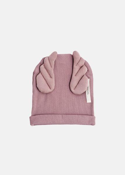 Vienguba Booso wings kepurė dusty pink