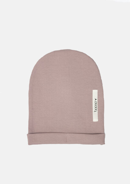 Vienguba Booso kepurė dusty pink
