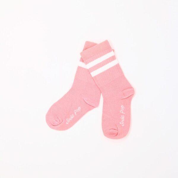Soda pop kojinės coral pink vintage kids